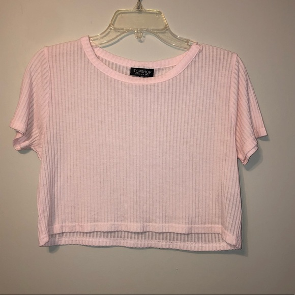 *2 for $20* Top shop blush pink crop top